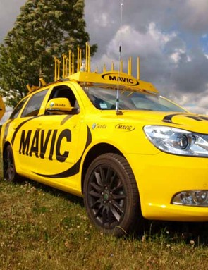 Mavic provided mechanical support to riders