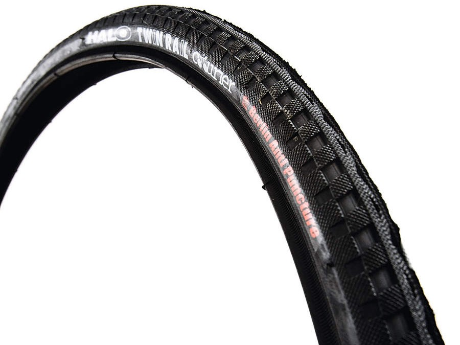 Halo Twin Rail courier Berlin edition tyre