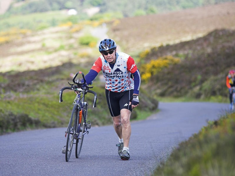 There'll be less walking in this year's Dave Lloyd Mega Challenge, as the hard side of the Bwlch-y-Groes has been taken out
