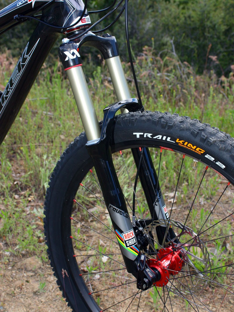 Our fork of choice for the Ashland Super D was RockShox's new Revelation XX World Cup with 140mm of travel
