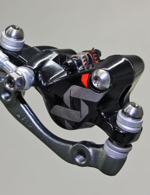 The Avid XX World Cup calliper is identical to the current XX brake save for a different finish. Avid say BlackBox racers will be on the new brake in time for the World Championships in the autumn