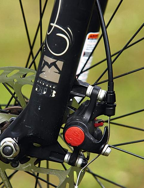 Avid's BB5 disc brakes produce shedloads of  power coupled with superb modulation and  easy adjustment