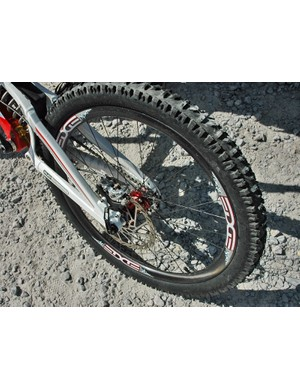 The Syndicate are the first World Cup downhill team to run carbon rims at every race