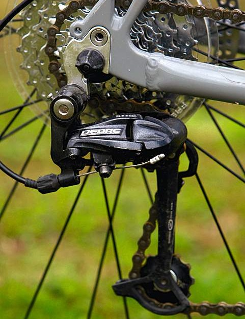Shimano's Deore rear derailleur is a well specced upgrade