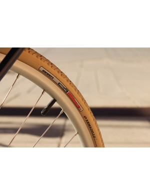Specialized's Infinity tires feature the brand's puncture and cut resistant Armadillo casing