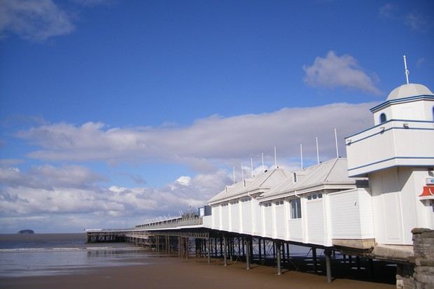 The Great Weston Ride will end in the Victorian resort of Weston-super-Mare on the Somerset coast