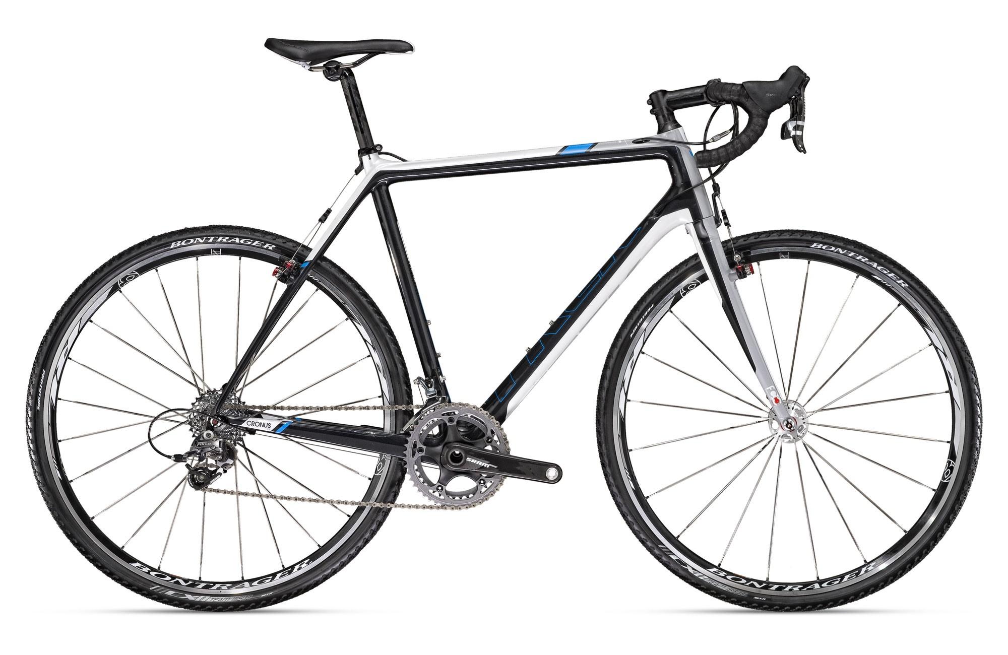 The new Trek Gary Fisher Cronus CX carbon fibre cyclocross bike