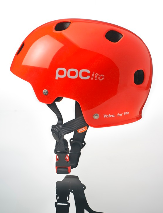 The helmets were developed by Volvo in co-operation with Swedish sports protection company POC