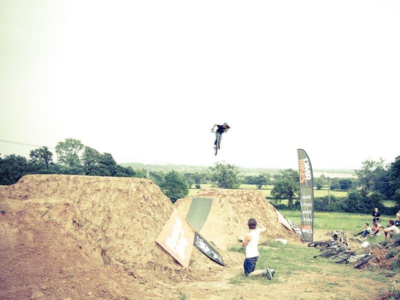 New dirt jumps