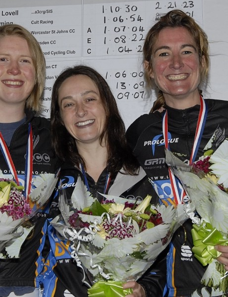London Dynamo: Rebecca Slack, Rachel Turner, Jenny Lloyd-Jones