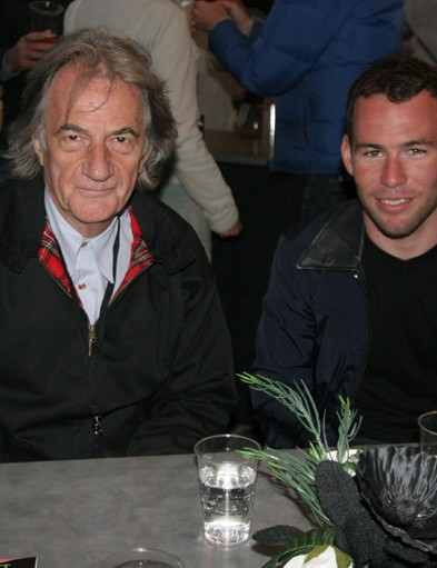 Sir Paul Smith and Mark Cavendish were among the spectators