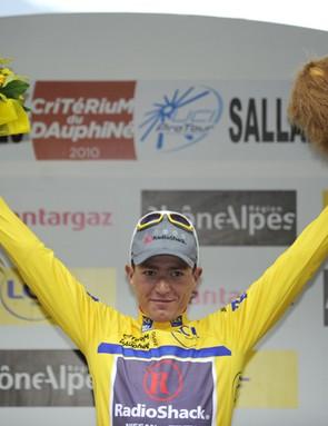 Slovenian Janez Brajkovič forced his way into the RadioShack Tour team
