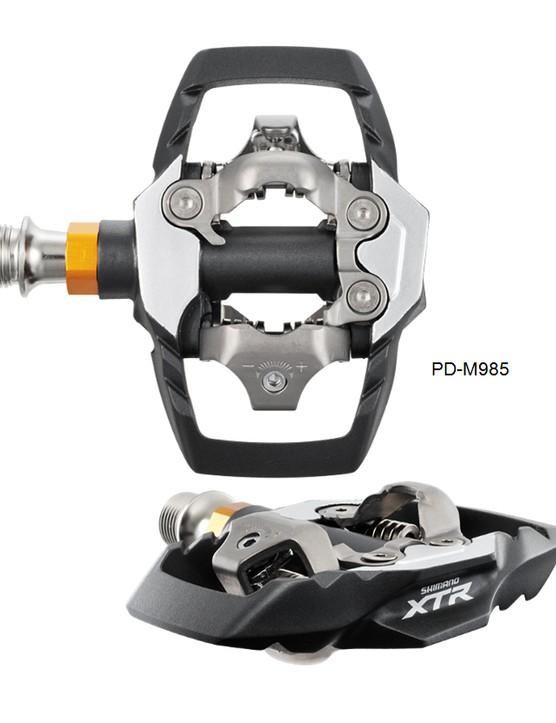 Shimano XTR M985 trail pedal