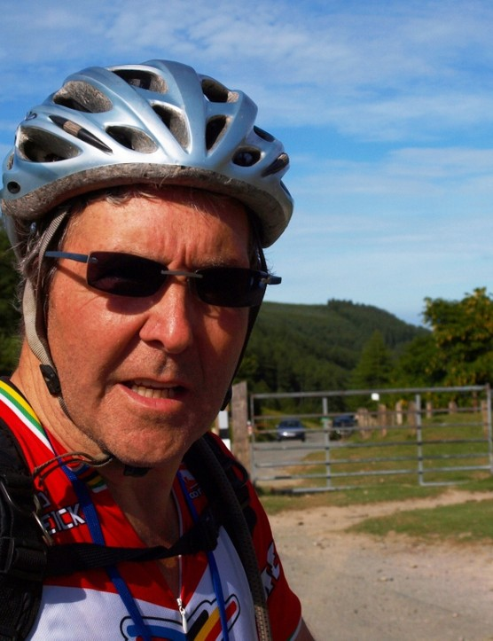 David Williams completed the course despite recently undergoing treatment for prostate cancer