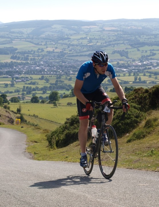 The views from Bwlch Pen Barras were spectacular