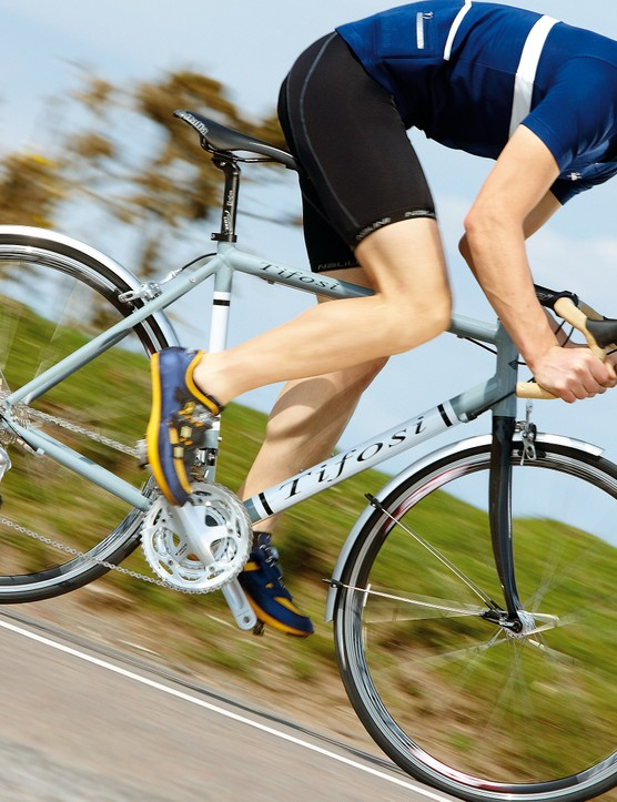 Bigger clearances don't diminish the sports bike feel