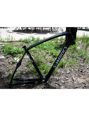 A naked Roubaix SL3 frameset