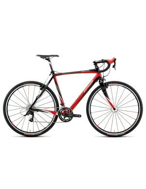 The Crux is available as a complete bike or a frameset