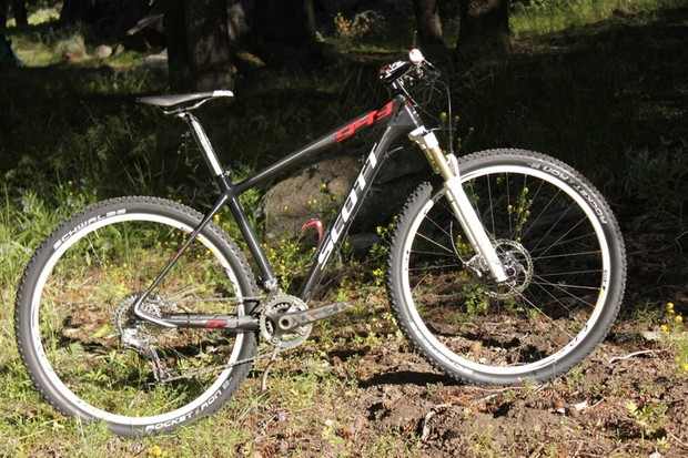 Scott USA's Scale 29er RC frame is guaranteed to weigh less than 949g in any frame size