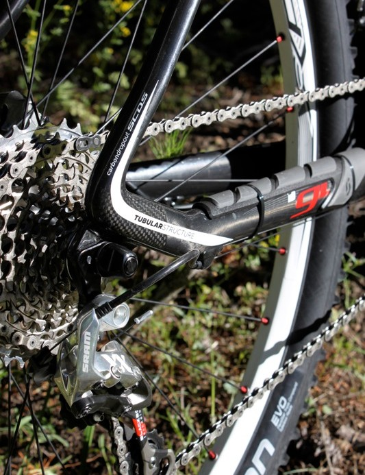 The Scale now sports the same derailleur hanger as both Spark and Genius, an advantage to the dealer and owner