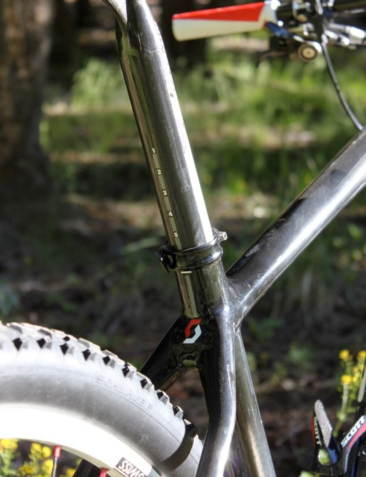 The new Scale, in both 26in and 29in, will only use a standard seatpost; the integrated mast of the old RC is gone