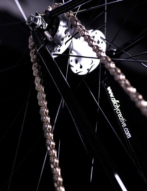 Genesis x Flyer back wheel