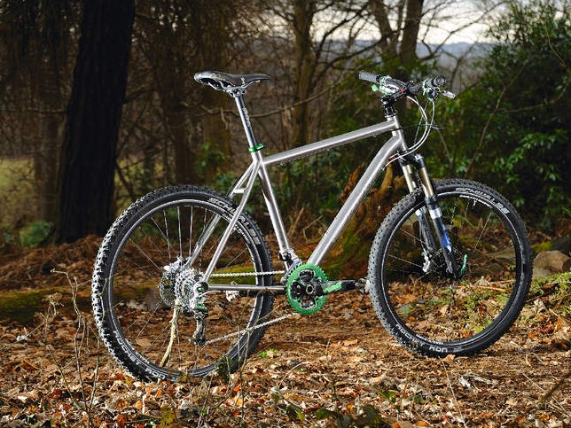 The Ala Carte is a  premium quality smooth riding titanium frame with beautifully subtle attention to detail