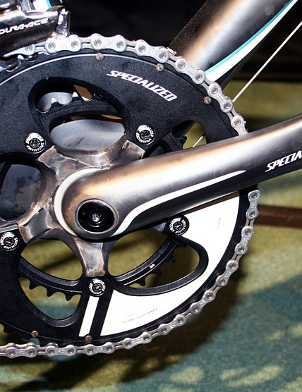 Specialized's own brand crankset graces the Ruby