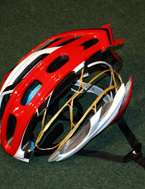 The kevlar Inner Matrix inside the Prevail is 30% lighter than the equivalent in the current S-Works