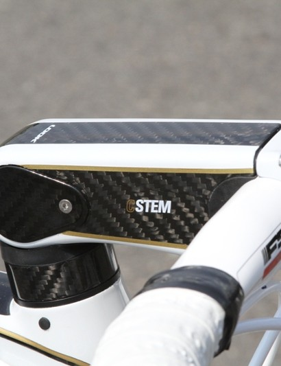 The C-Stem has a completely smooth back end thanks to LOOK's new Head Fit 3 headset