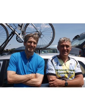 David Taylor and John Finney had a positive first time sportive experience