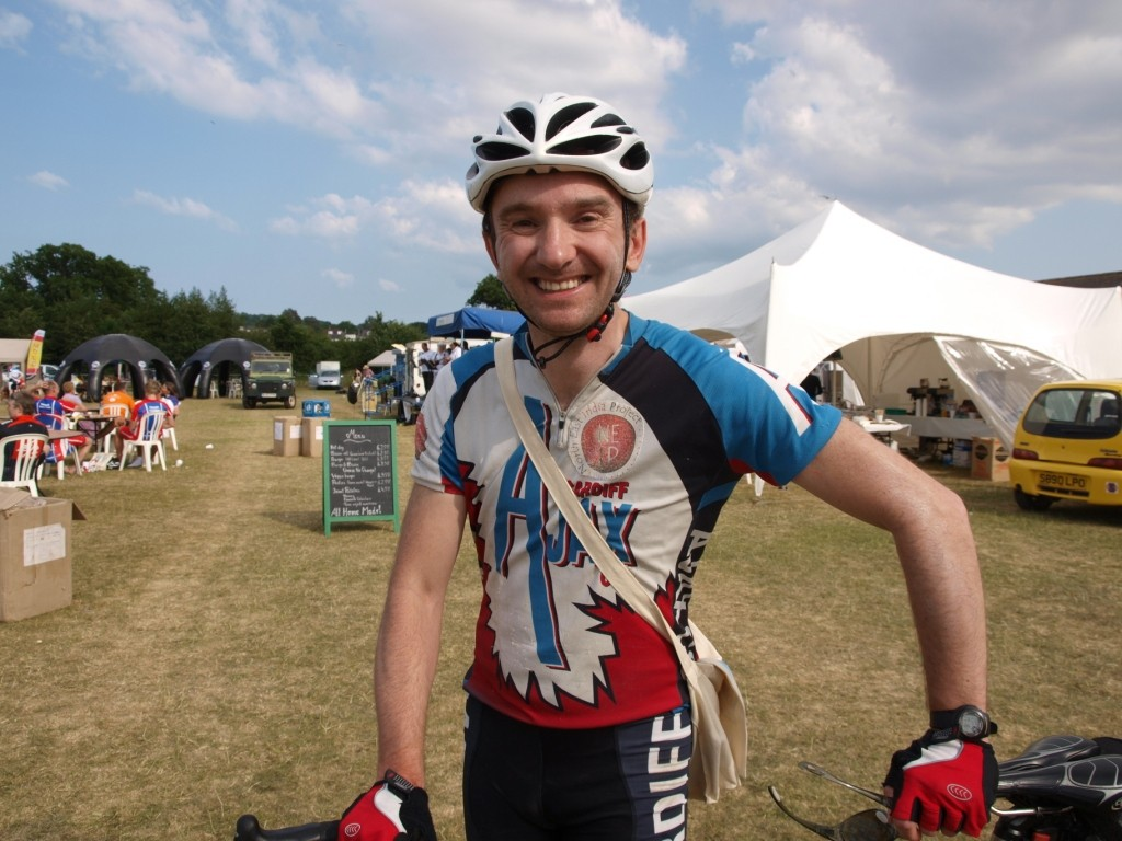 Ian Homer enjoyed the challenging terrain of Mid Devon