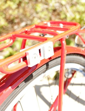 The rack holds a receptical for the Slide-to-Go clip