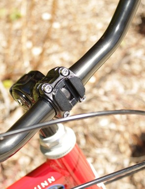 The stem's face plate also doubles as part of the Slide-to-Go system