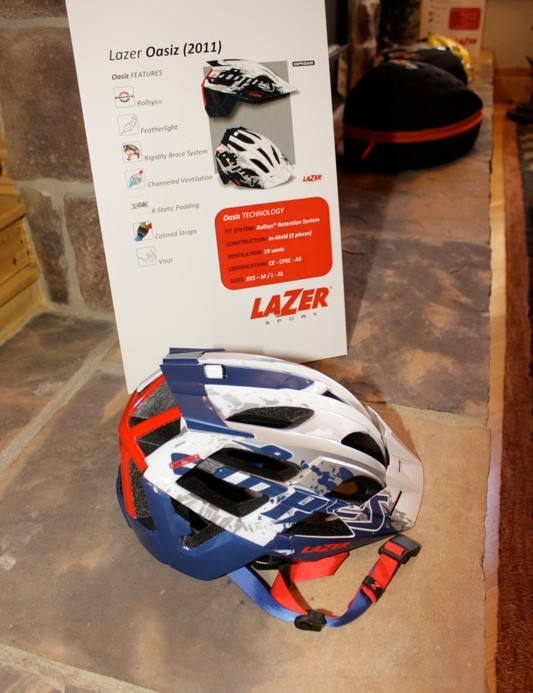 Lazer's Oasiz with Brian Lopes signature graphics
