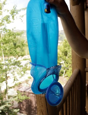 CamelBak's new bladder with integrated drying arms.