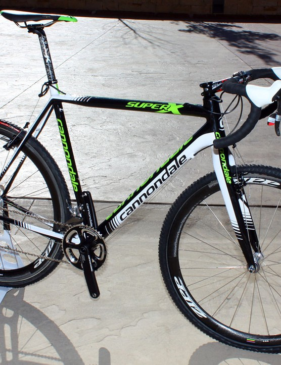 Tim Johnson and the rest of his Cannondale-Cyclocrossworld.com team are expected to be on Cannondale's new SuperX carbon 'cross machine this season