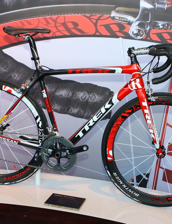 The 6 Series Madone SSL will be offered through Trek's Project One programme with new paint schemes that include a Team Radioshack replica option. Lance Armstrong and the rest of the team aren't using the new SSL in this year's Tour de France, though