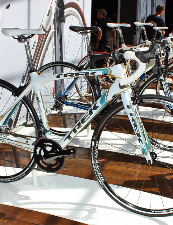 The 4 Series Madone frames will carry into the 2011 model year unchanged aside from colours and graphics