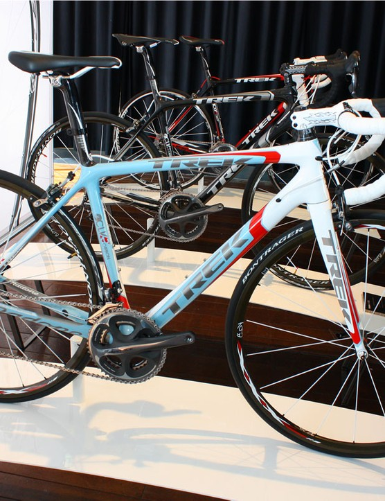 Trek 6 Series Madone bikes will all be offered through the Project One custom programme