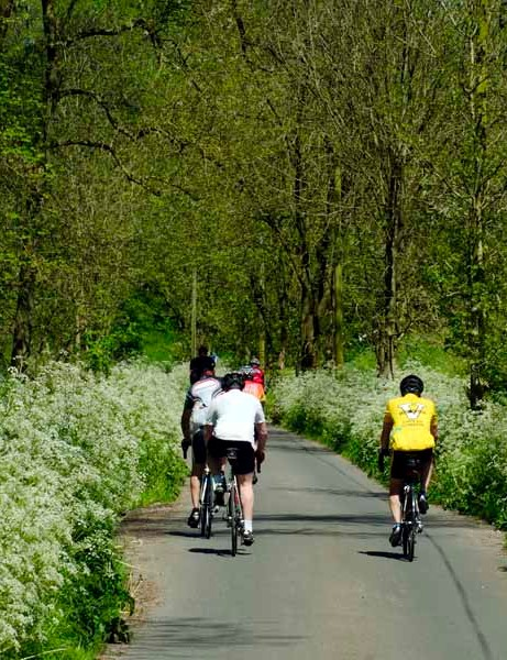 Take part in one of three options in the Cycling Plus Sportive