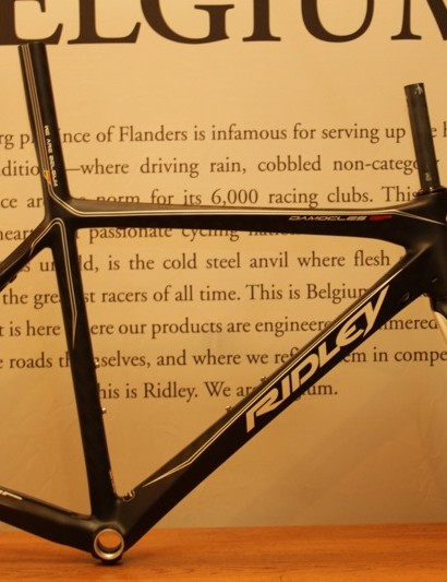 Ridley's Damocles ISP will only be sold as a frameset in 2011