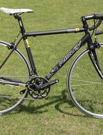 Ridley's Icarus SLS, a triple-butted 7005 series aluminium workhorse