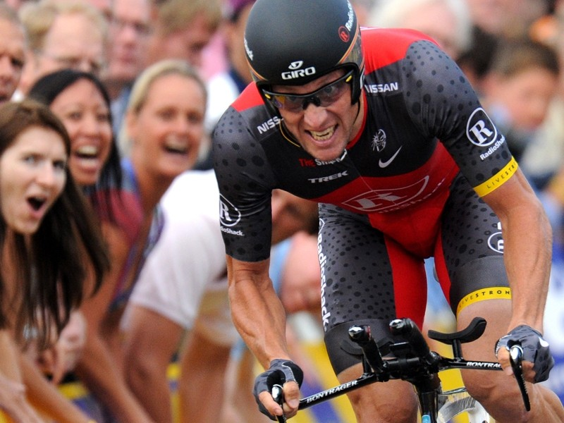 Lance Armstrong must be pleased with his performance in Saturday's Tour de France prologue