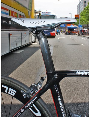 Scott will offer the Project F01 with two seatpost offset options