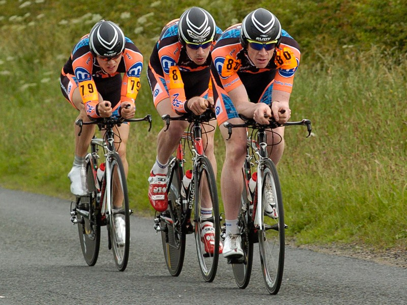 Motorpoint-Marshalls Pasta enjoyed a comfortable win in the RTTC National Team Time Trial Championships in North Yorkshire on Sunday