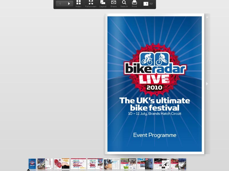 BikeRadar Live: Official programme available now