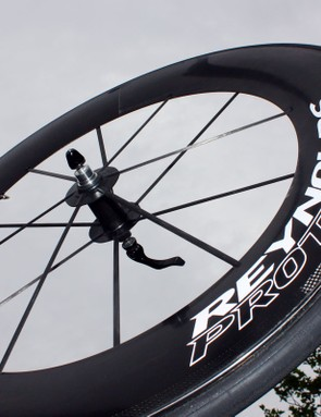 Reynolds officially introduced their new 92.2mm-deep RZR 92.2 aero wheel at this year's Tour de France