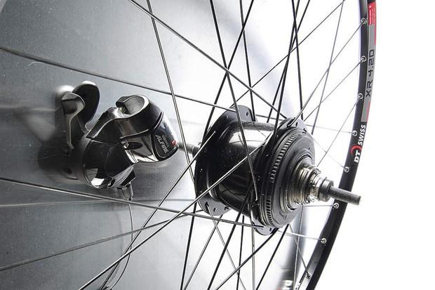 Shimano Alfine hub gear system