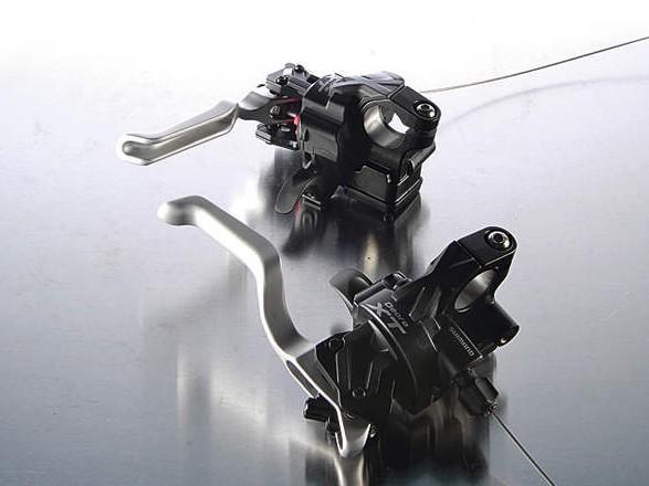 Shimano Deore XT dual control shifters